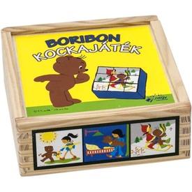 Boribon kockajáték Itt egy ajánlat található, a bővebben gombra kattintva, további információkat talál a termékről.