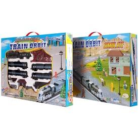 Train Orbit nagy modellvasút készlet gőzmozdonnyal