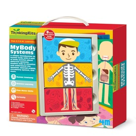 4M emberi test készlet