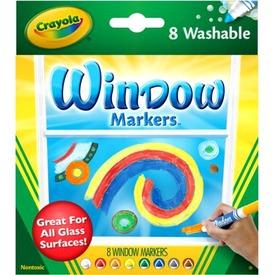 Crayola ablakfestő filctoll 8 darabos készlet Itt egy ajánlat található, a bővebben gombra kattintva, további információkat talál a termékről.