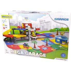 Wader Kid Cars 3D Mega garázs készlet - 7, 4 m