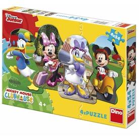 Mikiegér és barátai 4 x 54 darabos puzzle Itt egy ajánlat található, a bővebben gombra kattintva, további információkat talál a termékről.
