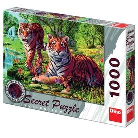 Tigris 1000 darabos titkos puzzle