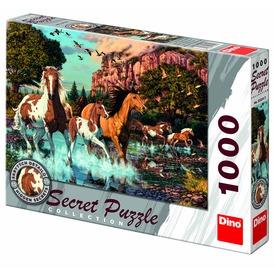 Lovak 1000 darabos titkos puzzle