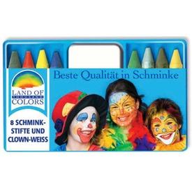 Krétás arcfesték 8 darabos készlet