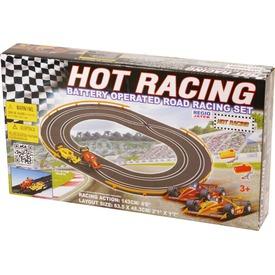 Hot Racing elemes autópálya Itt egy ajánlat található, a bővebben gombra kattintva, további információkat talál a termékről.