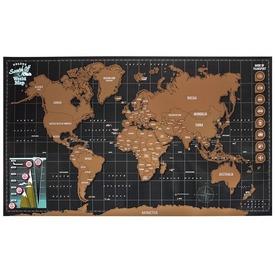 Képkarcoló - Világtérkép Itt egy ajánlat található, a bővebben gombra kattintva, további információkat talál a termékről.