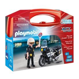Playmobil Motoros rendőrjárőr készlet 5648