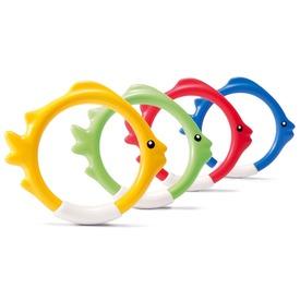 Vízalatti halacska gyűrűk 4 db 6 +