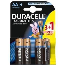 Duracell Turbo AA ceruzaelem 4 darabos készlet