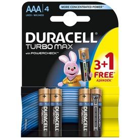 Duracell Turbo AAA mikro elem 4 darabos készlet