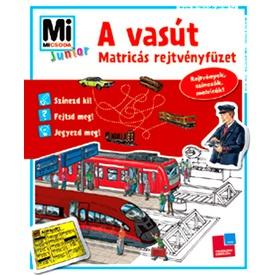 Junior matricás füzet - Vasút MJM Itt egy ajánlat található, a bővebben gombra kattintva, további információkat talál a termékről.