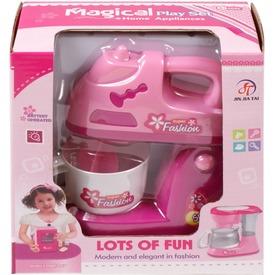 Elemes konyhai mixer - rózsaszín