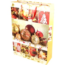 Karácsonyi ajándéktáska - 72 x 50 cm, többféle