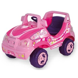 Elektromos terepjáró - rózsaszín, 6V