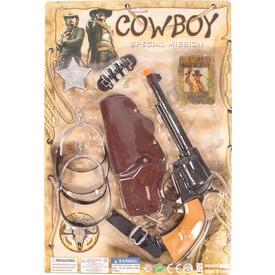 Cowboy fegyver és kiegészítő készlet