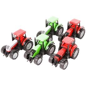 Farm World lendkerekes traktor - 11 cm, többféle
