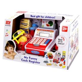 Elemes pénztárgép - piros-fehér Itt egy ajánlat található, a bővebben gombra kattintva, további információkat talál a termékről.