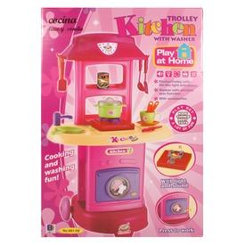 Tologatható játékkonyha - rózsaszín Itt egy ajánlat található, a bővebben gombra kattintva, további információkat talál a termékről.