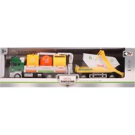 Fém kukásautó konténeres utánfutóval Itt egy ajánlat található, a bővebben gombra kattintva, további információkat talál a termékről.
