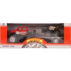 Autószállító terepjáró kisautóval - többféle Itt egy ajánlat található, a bővebben gombra kattintva, további információkat talál a termékről.