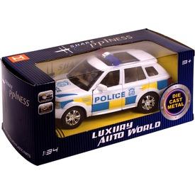 Fém rendőrautó - 1:34 Itt egy ajánlat található, a bővebben gombra kattintva, további információkat talál a termékről.