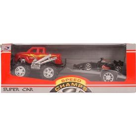 Autószállító versenyautóval - 32 cm, többféle