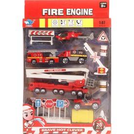 Tűzoltó autó 20 darabos készlet Itt egy ajánlat található, a bővebben gombra kattintva, további információkat talál a termékről.