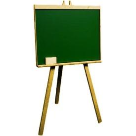 Állványos fa mágnes rajztábla - 93 cm