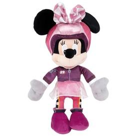 Minnie egér autóversenyző plüssfigura - 25 cm
