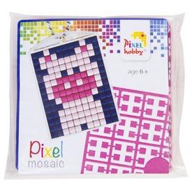 Pixel kulcstartó készlet - malac