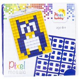 Pixel kulcstartó készlet - bagoly