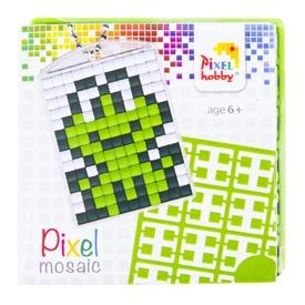 Pixel kulcstartó készlet - béka