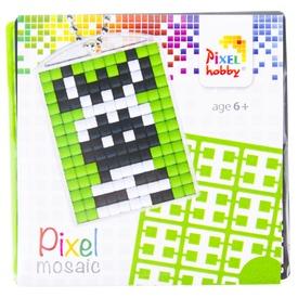 Pixel kulcstartó készlet - zebra
