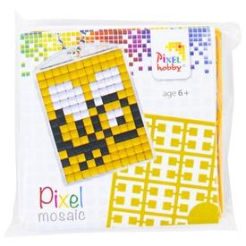 Pixel kulcstartó készlet - méhecske