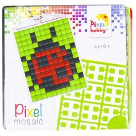 Pixel kulcstartó készlet - katica