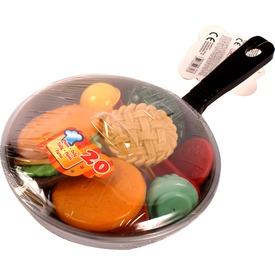 Élelmiszerek serpenyőben 20 darabos készlet