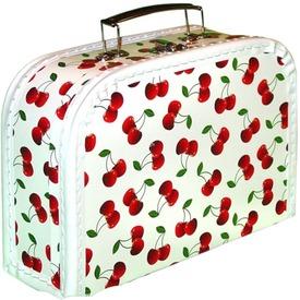 Cseresznye óvodás bőrönd