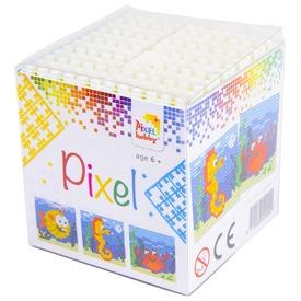 Pixel kocka készlet - tengeri állatok