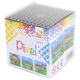 Pixel kocka készlet - foci