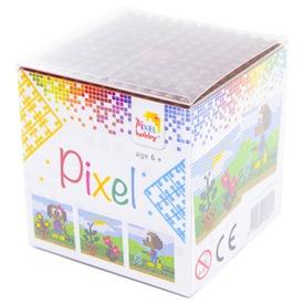 Pixel kocka készlet - kutya