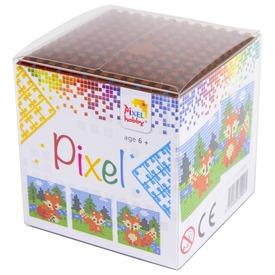 Pixel kocka készlet - róka