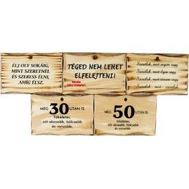 Vicces fa tábla - többféle Itt egy ajánlat található, a bővebben gombra kattintva, további információkat talál a termékről.