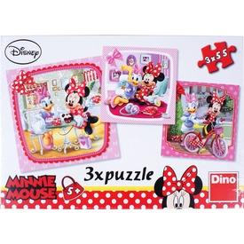 Minnie egér 3 x 55 darabos puzzle Itt egy ajánlat található, a bővebben gombra kattintva, további információkat talál a termékről.