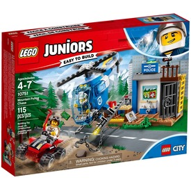 LEGO® Juniors Hegyi rendőrségi hajsza 10751