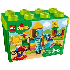 LEGO® DUPLO Nagy Játszótéri elemtartó doboz 10864