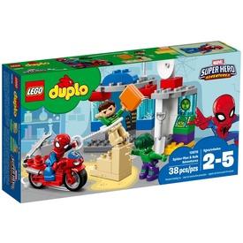 LEGO DUPLO Super Heroes 10876 Pókember és Hulk kalandjai Itt egy ajánlat található, a bővebben gombra kattintva, további információkat talál a termékről.