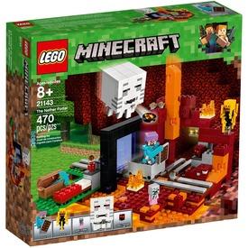LEGO® Minecraft Az Alvilág kapu 21143