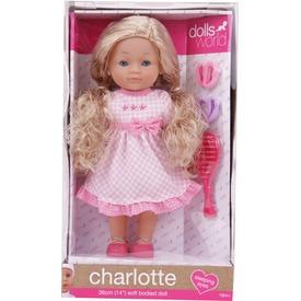 Charlotte fésülhető puha baba kiegészítőkkel - 36 cm Itt egy ajánlat található, a bővebben gombra kattintva, további információkat talál a termékről.