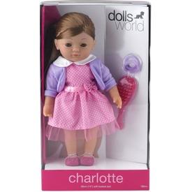 Charlotte fésülhető puha baba - 36 cm Itt egy ajánlat található, a bővebben gombra kattintva, további információkat talál a termékről.